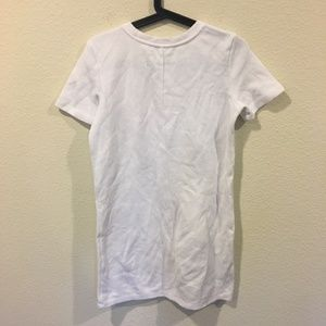 Zara Dresses - Zara white short sleeve patch dress